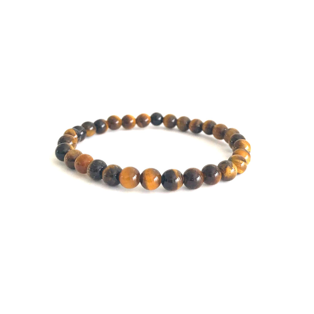 6mm Tiger's Eye bracelet
